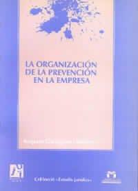 Descargar Libro La organización de la prevención en la empresa (Estudis jurídics) de María Amparo Garrigues Giménez
