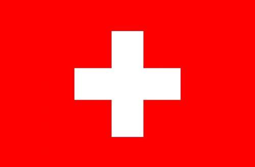 Schweiz Kanton Schwyz Hissflagge schwyzer Fahnen Flaggen 90x90cm