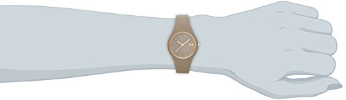 8ee870267ad1a8 Ice-Watch - ICE glam forest Carribou - Montre beige pour femme avec  bracelet en silicone - 001057 (Small) ...
