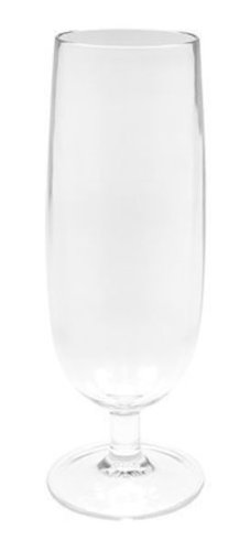 Zak Designs 0025-630 Flute à Champagne Stacky Transparent 16 cl