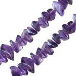 I-Beads - Amethyst Chips 6mm (1)