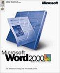 Microsoft Word 2000 CD W32 / Textverarbeitung (Vollversion)
