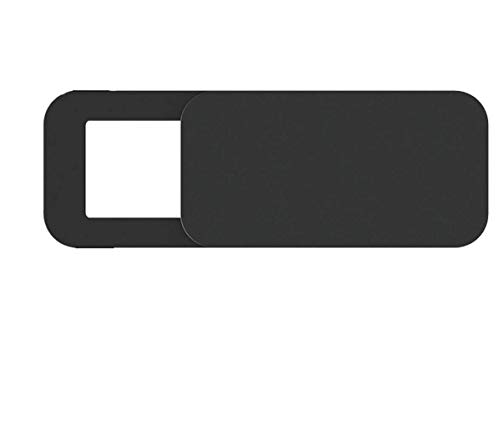 Esharing, 3 x Auslöser-Schutzhülle für Kamera, Slim Webcam Computer, Privatsphäre, 0,027 Zoll Smartphone, Laptop-Blocker schwarz -