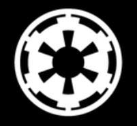 Makarios LLC Galactic Empire MKR766 Star Wars Cars Trucks Vans Walls Laptop MKR- 5,5 x 5,5 cm, - Awesome Kostüm Männer