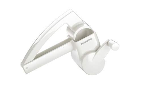 Tescoma Grattugia a manovella Handy, Acciaio Inossidabile, Bianco, 1 Pz
