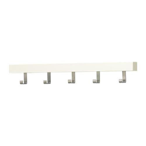 Ikea TJUSIG - Colgador para Puerta/Pared, Color Blanco - 60 ...