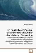 En Route: Laser-Plasma-Elektronenbeschleuniger dernächsten Generation: Durchbrüche bei der Entwicklung von ultrakompakten,relativistischen ... auf Basisvon Terawatt-Laserpulsen und Plasmen