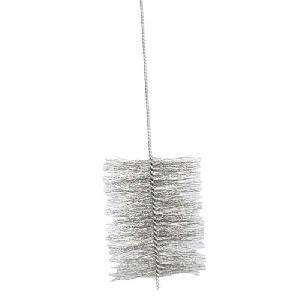 KAMINO FLAM Ofenrohrbürste 333275, aus robustem Stahldraht, für den Rechtslauf gedrehte Kaminbürste, Stahldrahtbürste für den Innen- und Außenbereich, selbst Biegungen sind mit der Bürste gut zu säubern, die Bürste ist (Zubehör Ofenrohr)