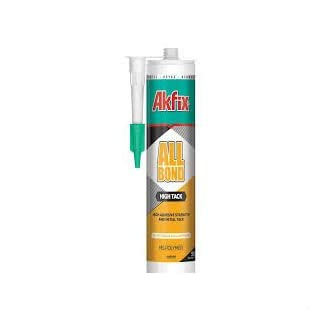 Akfix ALLBOND MS HIGH TACK – Adhesive & Leak Sealant