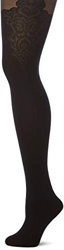Fiore Damen Feinstrumpfhose Gladis/Golden Line Classic-G5595 Strumpfhose, 40 DEN, Schwarz (Black 001), Small (Herstellergröße:2)