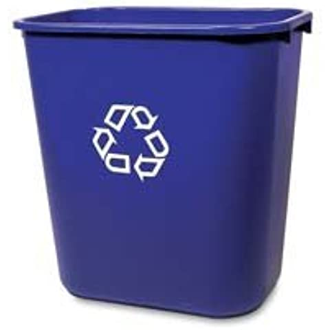Rubbermaid 28 Quart Deskside Recycle Wastebasket by Rubbermaid Commercial