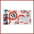 18. Geburtstag Deko XXL Umschlag für Geldgeschenke oder Gutscheine zum 18. Geburtstag Geburtstagskarte zum 18.Geburtstag