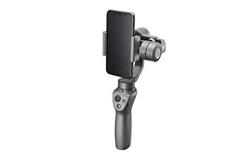 DJI Osmo Mobile 2 - Gimbal Handkamerastabilisator für Apple iPhone I Smart Motion Kamera mit integrierten Zoomregler - Grau