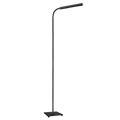 AUKEY LED Stehlampe, 9W touch Stehleuchte mit stufenlosem Dimmer, natürlich weißes augenschützendes Licht für Entspannen, Lesen, und Arbeiten -