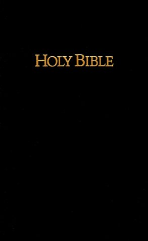 The Holy Bible Containing the Old and New Testaments: King James Version, Black Imitation Leather