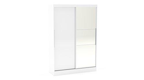 P&n homewares adesso armadio a 2ante scorrevoli bianco | camera da letto | furniture | armadio