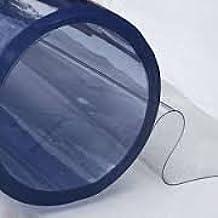 Hule de mesa de vinilo transparente, al metro, 135 cm de ancho