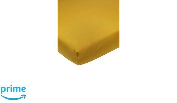 Meyco 565023 Drap-housse en jersey pour b/éb/é Jaune oc/éan 70 x 140//150 cm