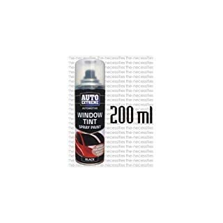 6 x 200ml Auto Extreme Car Lights Glass Body Spray Paint Tint Black Smoke LNL