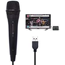 Karaoke-Gaming-Mikrofon mit USB Kabel für Nintendo Switch/Wii U / PS4 / Xbox One/Xbox 360 / PC Singing Game - 9,84 ft
