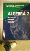 Algebra 2 Fcat Transparencies: Mcdougal Littell High School Math Florida