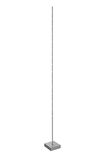Sompex Stehleuchte Metall 15 W, satin 18 x 19 x 179 cm