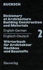 Wörterbuch für Architektur, Hochbau u...