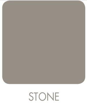 Signeo 0,8 L Bunte Wandfarbe, STONE, Steingrau, Grau matt, elegant-matte Oberflächen, Innenfarbe
