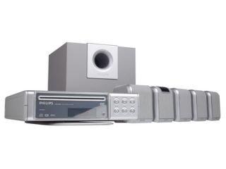 Philips DVD 580 HC Heimkino-System silber