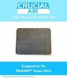 1 Hunter 30920 Air Purifier Filter; Fits...