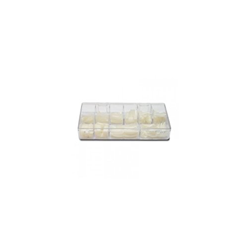 Nails & co - Capsules classiques - Petite encoche - - Boîte de 250 capsules (T1 à T10)