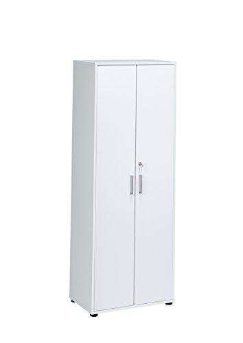 MAJA Möbel Magic 1595 Aktenschrank ICY-weiß, Abmessungen (BxHxT): 69 x 182,80 x 40 cm, Holz, 69 x 40 x 182,80 cm