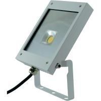 Rolux DF-51001 A+, LED Flutlichtstrahler, 12 W, aluminium, weiß, 200 x 142 x 28 cm