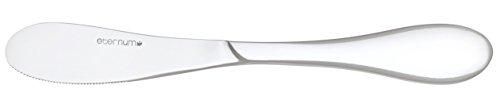UTOPIA f10655Salsa Butter Messer, Besteck Zubehör 18/0(12Stück) (Salsa-messer)