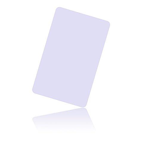 20 piezas NFC NTAG215 Chip NFC tarjeta PVC blanco Cards-NTAG215 (compatible con TagMo / Amiibo)