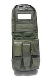 Praktische Allround Waschtasche zum Aufhängen Waschzeugtasche Kulturtasche Kulturbeutel Oliv oder Tropentarn (Oliv)