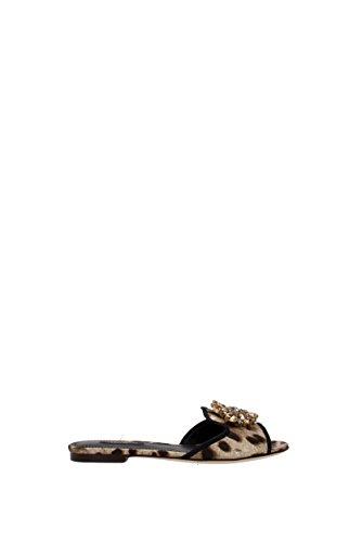 Dolce & Gabbana Flip-Flops und Holzschuhe Dolce&Gabbana Damen - Stoff (CQ0023AG411HK13M) 39 EU