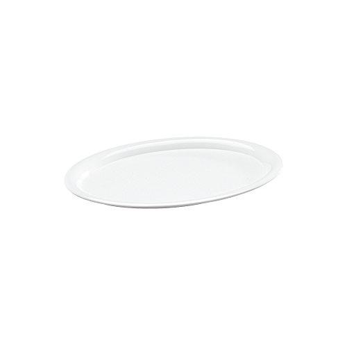 WACA Kaffeehaustablett, oval (220 mm x 165 mm) aus Melamin [Haushaltswaren]
