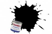 HUMBROL Enamel paint No 33 MATT BLACK 50ml