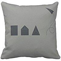Stefan Paula Custom Pillowcase Origami Pillowcase Pillow Case Cover Size 18X18 Inch (Two Sides)