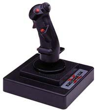 Vintage Thrustmaster x-Fighter Flight Control System ~ Draht Joystick (Pc Air-combat-spiele)