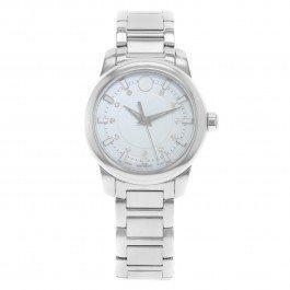 Movado donna Diamond 34mm con cinturino e cassa in acciaio orologio al quarzo 606943