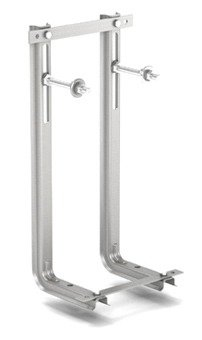 Universal Tragegerüst f.wandh. WC+Bidet