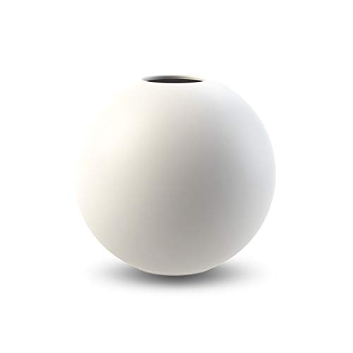 Cooee Design Ball Vase 8cm White
