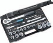 Preisvergleich Produktbild HAZET Profi-Steckschlüssel-Satz Vierkant (6,3 mm (1/4 Zoll) + 12,5 mm (1/2 Zoll), 47-teilig, mit zwei HAZET Umschaltknarren, 2-Komponenten-Weichschaum-Einlage) 953SPC