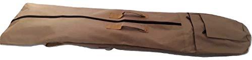 Große Detektortasche / Tragetasche mit Schultergurt und Tragegriffen. für alle Garrett Ace Modelle, Garrett at Pro & Gold etc. Universal Tragetasche & Aufbewahrungstasche für Metalldetektoren beige - Garrett Detector Ace Metal