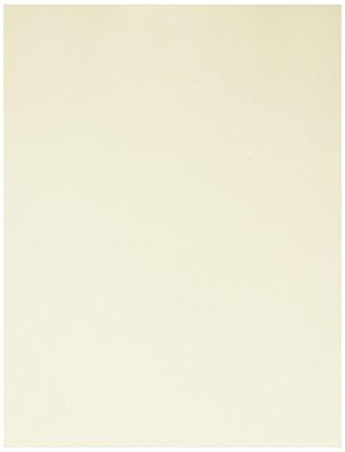 L-Karte, elfenbeinfarben, 90LB, Buchstabe, 8,5x 11, 250Blatt/1Ries, (056100r) hergestellt in den USA (Farbigen Cardstock)