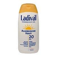 Ladival Allergische Haut LSF 20 Sonnenschutz Gel, 200 ml
