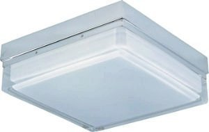 Square Flush Mount (ET2 Lighting E21038-01PC 2 Light Flux Square Flush Mount Ceiling by ET2 Lighting)