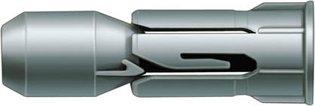 fischer PD 12 - Plattendübel zum Befestigen von Bildern, Gardinenschienen, Handtuchhaltern in Gipskarton und Gipsfaserplatten, Holzplatten, MDF-Platten - 50 Stück - Art.-Nr. 15937